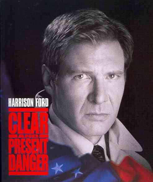CLEAR AND PRESENT DANGER BY FORD,HARRISON (Blu-Ray)