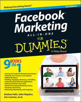 Facebook Marketing All-in-One for Dummies By Vahl, Andrea